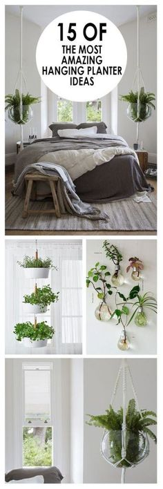 15 of the Most Amazing Hanging Planter Ideas