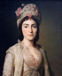 1777 Alexander Roslin - Zoie Ghika, Moldavian Princess