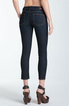 Paige Denim 'Kylie' Crop Skinny Leg Jeans (Stream) | Nordstrom