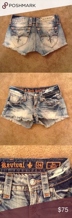 Rock Revival Shorts Rock Revival Jen Shorts. Excellent condition. Rock Revival Shorts Jean Shorts