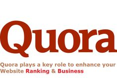 Quora plays a key role to enhance your Website Ranking & Business  Today, multiple SEO Services are using the Quora answers to bring a business website on top of Google Search Engine Page Results (SERP). Alliance IT Services, the leading SEO Company in Delhi, India, has achieved significant results for many of its clients, through Quora answers.