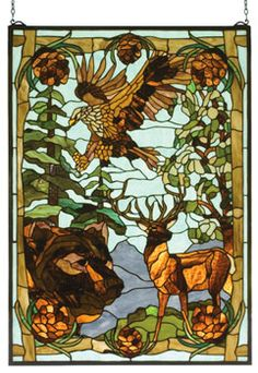 Stained Glass...Perfect for the hunter.