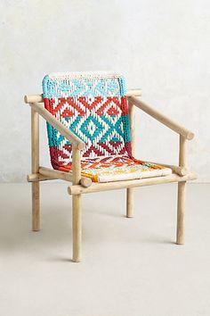 woven chair!