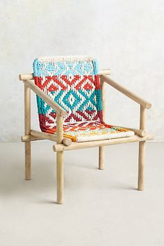 Diamond-Weave Chair #anthropologie
