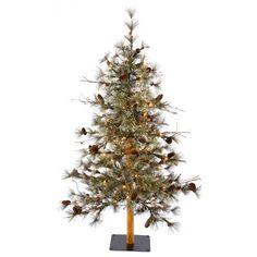 3' Vickerman B115431 Dakota Alpine - Green Christmas Tree