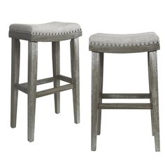 Fresh White Washed Counter Stools