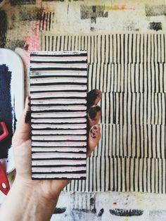 Block Printing — sarah golden Lines, Block Print, Sarah Golden Motifs Textiles, Textile Prints, Fabric Painting, Fabric Art, Encaustic Painting, Stamp Printing, Screen Printing, Stamp Carving, Handmade Stamps