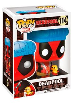 Deadpool Shower Cap & Ducky Bobble-Head 114 - Funko Pop! från Deadpool