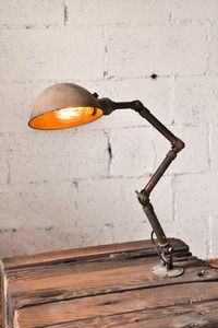 Machine Age Industrial Task Lamp