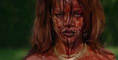 Rihanna Camilla Dietz Bergeron vintage necklaces Bitch Better Have My Money video