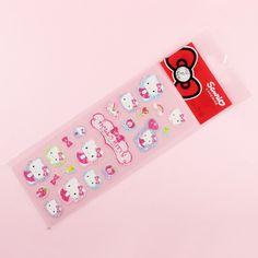 Sticker mit Hello Kitty und Schleifen - Kawaii- und Bastelshop