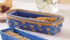 Cracker Basket-12617BSKTS Longaberger.com/brendaalix
