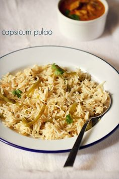 capsicum pulao recipe – easy, quick and one pot aromatic capsicum rice recipe. can be served with a side vegetable or paneer gravy, dal or even a raita.