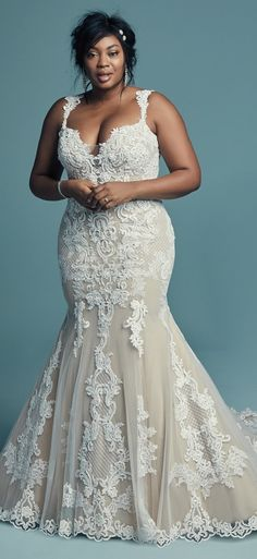 125 Best Plus Size Wedding Dresses Images On Pinterest In 2018