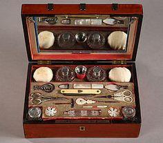 Charles X sewing casket / Coffret et son nécessaire à c For Sale | Antiques.com | Classifieds