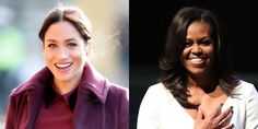 """What Michelle Obama Told Meghan Markle About Raising Sasha and Malia Left Her """"Speechless"""" Meghan Markle Interview, Bruised Knees, Malia And Sasha, Interview Style, Pose For The Camera, Marriage Relationship, Prince Harry And Meghan, Michelle Obama, Oprah"""