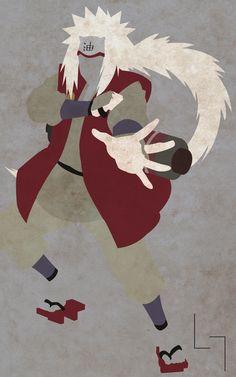Naruto Minimalist Jiraiya
