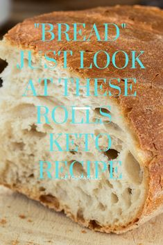 Keto Bread Recipe 6 years of keto recipes later, this is by far the best bread substitute I have ever tried. Just look at these rolls… Recipe on Website 6 years of keto recipes lOopsie RollsKeto High Fiber Bread Keto Foods, Ketogenic Recipes, Low Carb Recipes, Cooking Recipes, Healthy Recipes, Best Keto Bread, Low Carb Bread, Low Carb Keto, Paleo Bread