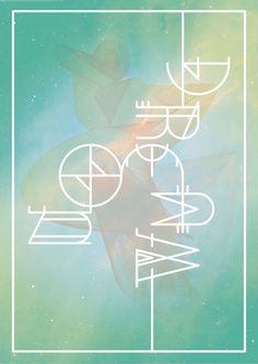 Typography // Type experiments by Jorrit van Rijt, via Behance