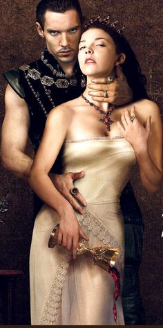 The Tudors, Henry VIII & Anne Boleyn, sure...that's some kind of love.