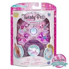 Lower Price with Twisty Petz *mauvelous Monkey* Series 1 Twist From Pet To Bracelet Cute Htf Action Figures Toys & Hobbies