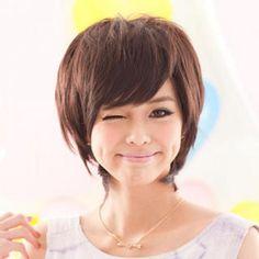 Short Full Wigs - Wavy Coffee - One Size