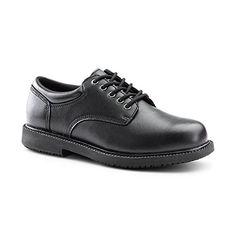 Keuka SureGrip Womens Barton Black Casual Slip Resistant Work Shoes 7.5M * Click here for more details @