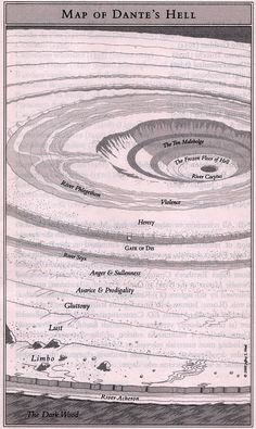 Dante's Inferno Map | dante_map_hell