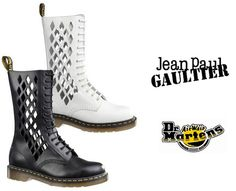 Dr. Martens x Jean Paul Gaultier Boots - want, need !!! (winter 2009)
