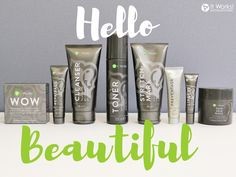 I can't wait to try all the It Works Skin Care! I see the amazing results from the wraps and I know my skin will look amazing!