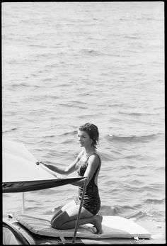 Jackie Kennedy...Jackie Was Truly A Water Sports Lover...and A Devotee To Long, Solitary Walks On the Beach...