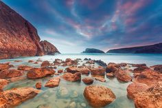 Playa de Arnia @ Liencres - Cantabria (Spain) by Eric Rousset