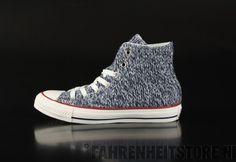 10c3a5d1934d Converse - Converse All Star Sneaker Hi Tex Winter Knit Navy Egr 545060C -  Fahrenheitstore Converse
