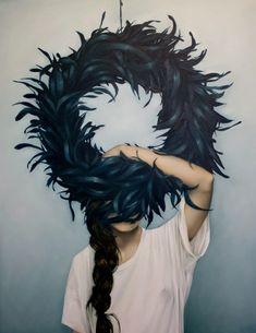 Amy Judd's mysterious paintings epitomize the enchanting aspects of femininity. She creates images rich with a soft sensitivity, and though each piece is a