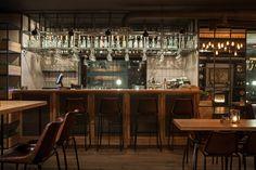 Imagen de la barra de bar en restaurante Barco.