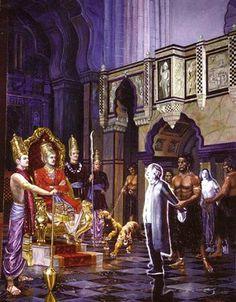 Sage Kapila explains the Yama Logam to Mother Devahuti. The Sinners are produced before Yama Dharma Raja !