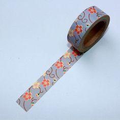 Washi Tape Sakura morado