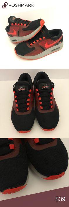 42130170351fb0 Nike Air Max Zero 881226-005 Black Crimson-Gym Red Nike Air Max