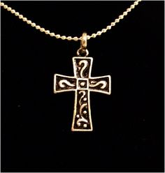 "Peace Be With U - Christian Store - Modern Cross 18"" Christian Necklace, $12.99 (http://www.peacebewithu.com/modern-cross-18-christian-necklace/)"