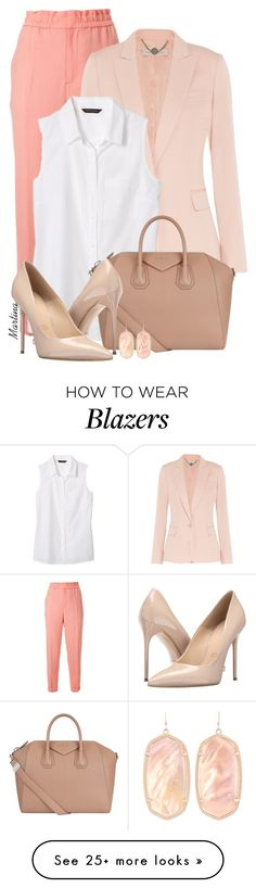 """Bez naslova #2590"" by martina-cciv on Polyvore featuring Le Ciel Bleu, STELLA McCARTNEY, Banana Republic, Givenchy, Massimo Matteo and Kendra Scott"