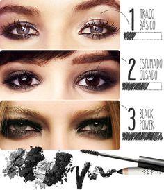 Olho preto em 3 versões - escolha o perfeito para você -