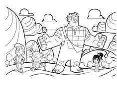 Free Pizza Steve Coloring Page from Uncle Grandpa Brenden party