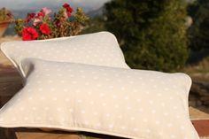 SLOWERS, organic cotton cushions, crowns print