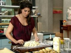 Get Rosemary Parmesan Shortbread Recipe from Food Network