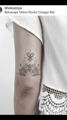 Flower tattoos, small tattoos, flower tattoo back, small mandala tattoo Elbow Tattoos, Full Sleeve Tattoos, Mini Tattoos, Cute Tattoos, Flower Tattoos, Body Art Tattoos, Small Tattoos, Tattoos For Guys, Tattoos For Women