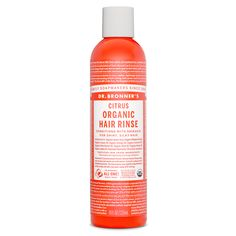 Dr. Bronner's Citrus Organic Hair Rinse - 8 oz.