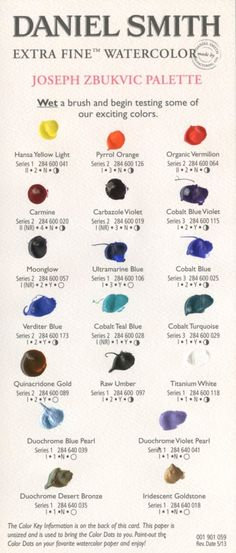 An artist's colour and palette choice is a very individual thing and the subjects an artist chooses to paint can have a huge impact on the. Learn To Paint, Joseph Zbukvic, Artist, Watercolor Mixing, Watercolor Palette, Art Tutorials, Artist Palette, Color Mixing Chart, Art Class