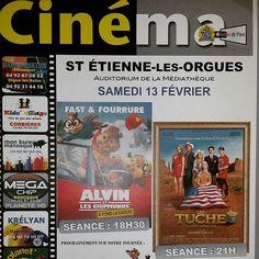 Ce samedi, c'est cinéma de pays ! ;) #saintetiennelesorgues #cinemadepays