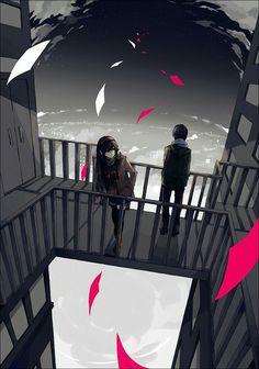 Beautiful anime scenery