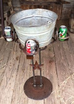 Cowboy Cooler by RockinLDesign on Etsy